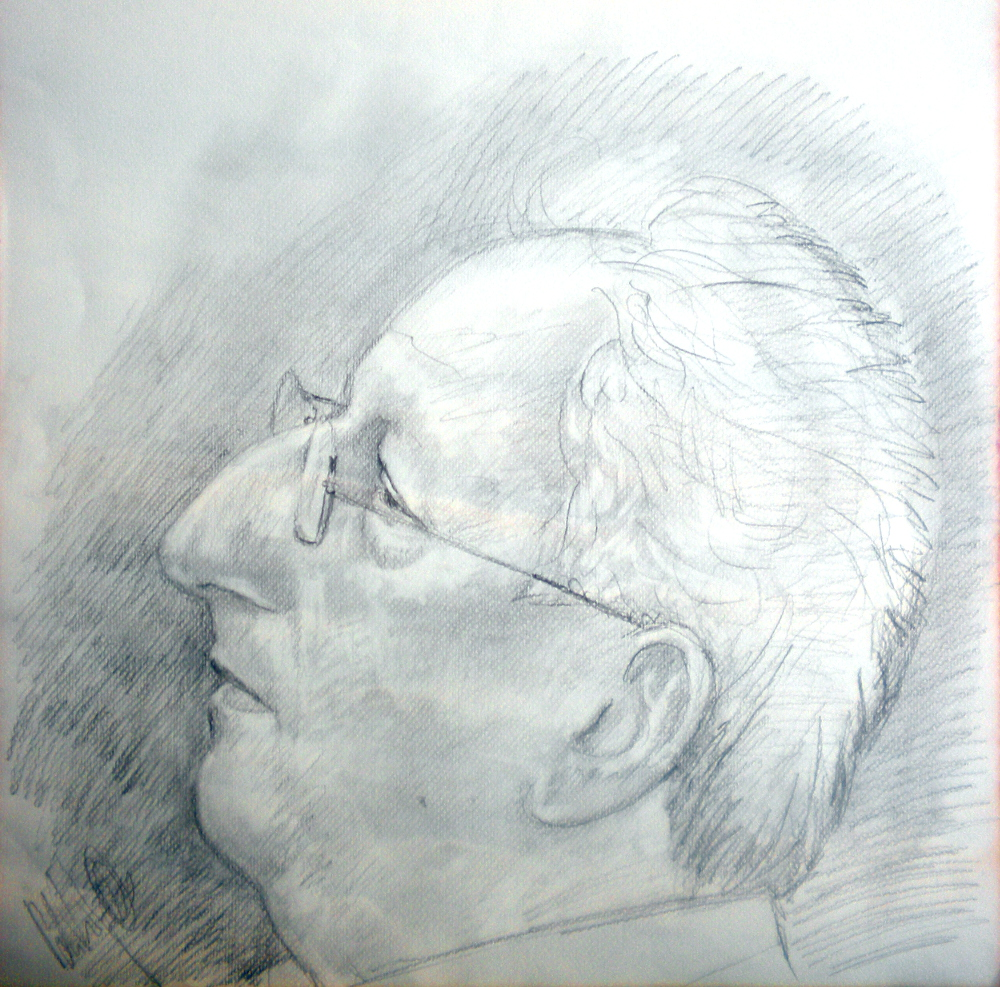 Luigi Tronci, matita su carta cm 50x50, 2014